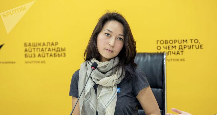 Программист Айнура Сагын