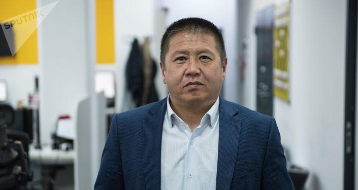 Бишкек шаарынын жашылдандыруу муниципалдык ишканасынын жетекчисинин орун басары Рысалы Жаналиев