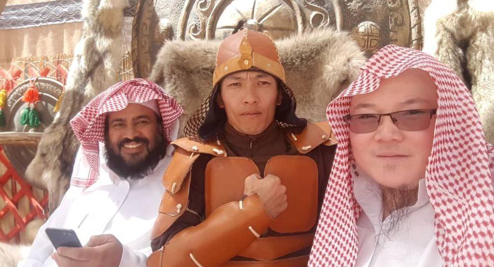 Camel Fest фестивалынын катшуучучу Улукбек Өмүрбеков