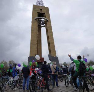 Бишкекте 24-март күнү велосезондун ачылышы болду