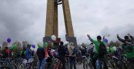 Открытие велосезона в Бишкеке