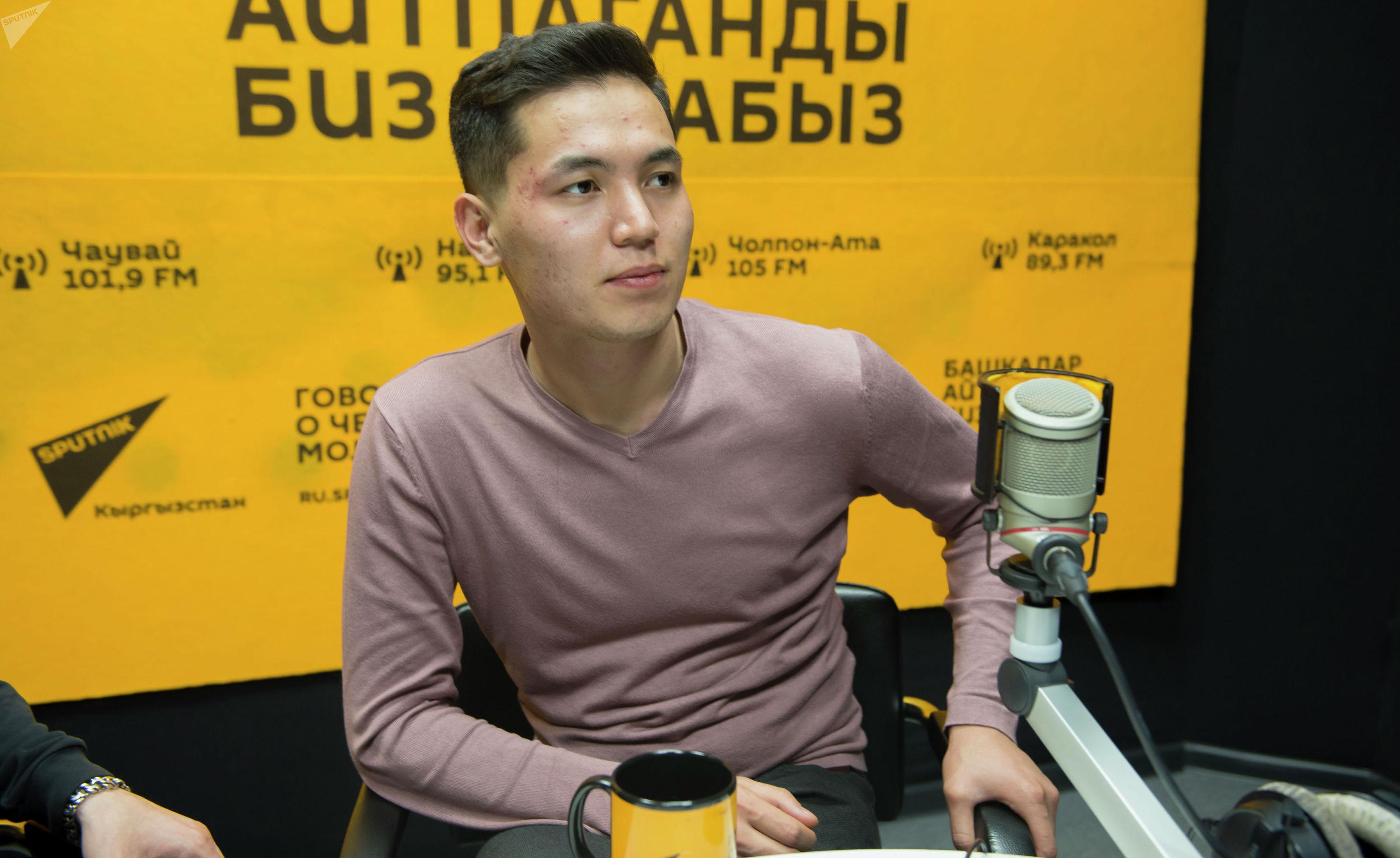 Организатор концертов зарубежных звезд в Бишкеке Аксель Таштемиров