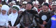 Кыргызстанцы на церемонии закрытия международного этнофестиваля Camel Fest в городе Эр-Рияд (Королевство Саудовская Аравия). Архивное фото