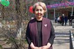 Бишкек шаарындагы №10 кесиптик лицейинин директору Саадат Жаманкулова