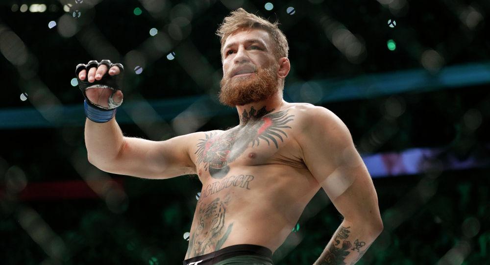 Ирландский боец UFC Конор Макгрегор. Архивное