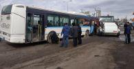 В столице Казахстана — городе Нур-Султане — произошло крупное ДТП с автобусом и легковыми машинами