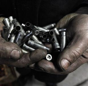 Патроны, производимые на патронном заводе. Архивное фото