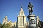 Главное здание Московского государственного университета. Архив