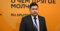 Представитель российского банка Асан Ниязов. Архивное фото