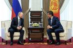 Президент Владимир Путин Кыргызстанга келди