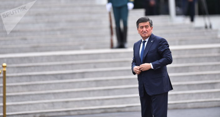 Өлкө башчы Сооронбай Жээнбеков Ала-Арча мамлекеттик резиденциясында Россиянын президенти Владимир Путинди күтүп турат.
