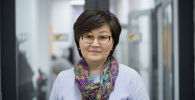 Специалист по связям с общественностью Центра оценки образования и методов обучения (ЦООМО) Чинара Батракеева