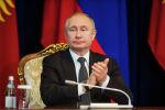 Президент РФ Владимир Путин на брифинге после переговоров. Архивное фото