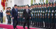 Тарыхый ирмемдер... Путиндин сапары сүрөт түрмөктө