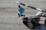 Казахский танкист. Архивное фото