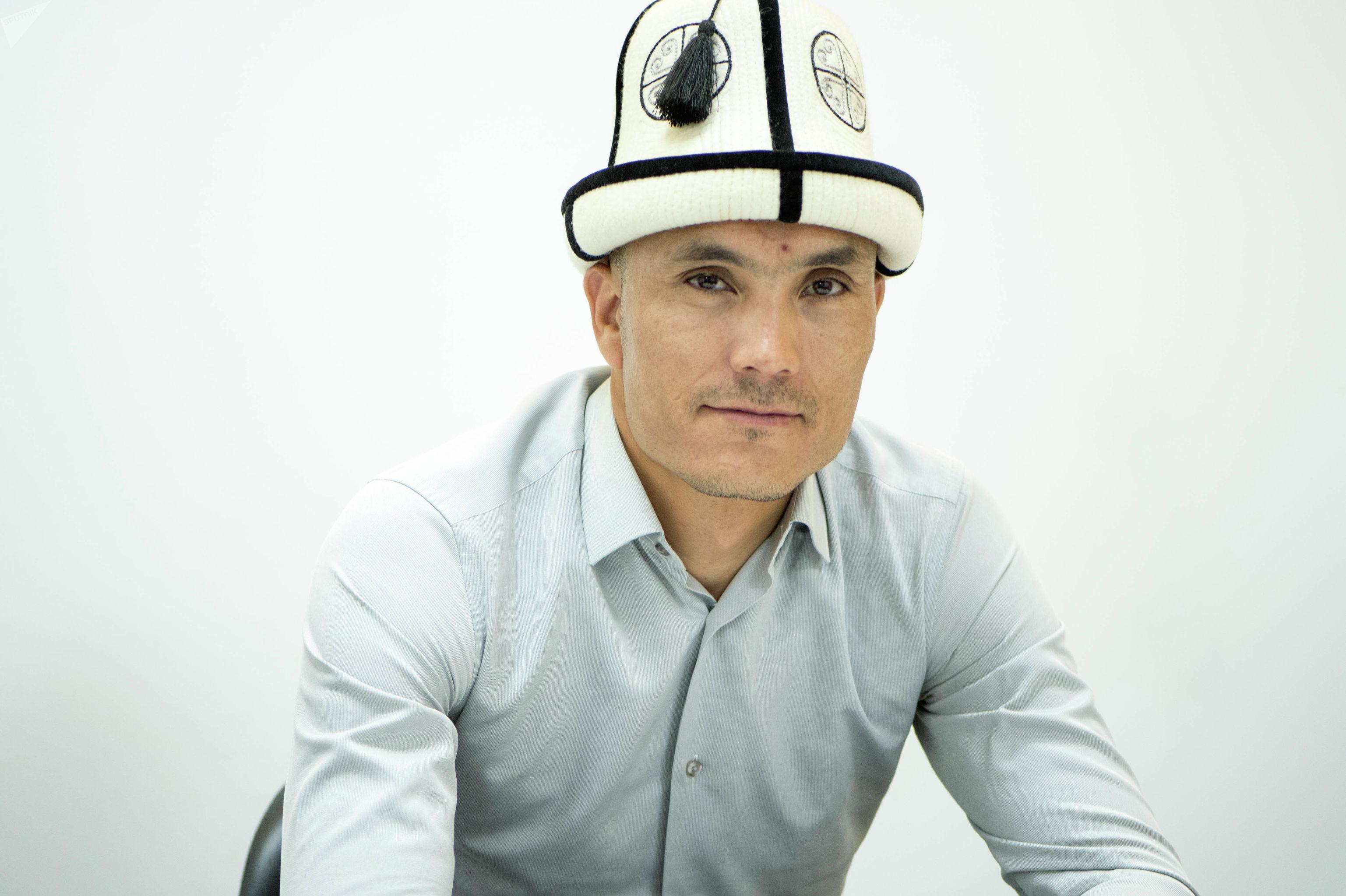 Куратор конно-спортивных игр Всемирной конфедерации этноигр Нурмухаммед Эшматов