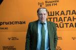 Художественный руководитель детского театра Домисолька, поэт, продюсер Иван Жиганов во время беседы на радио Sputnik Кыргызстан