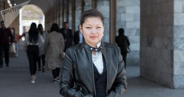 Назгуль Ражапаева, которой требуется пересадка почки и поджелудочной железы