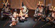 Выступление японских артистов. Архивное фото