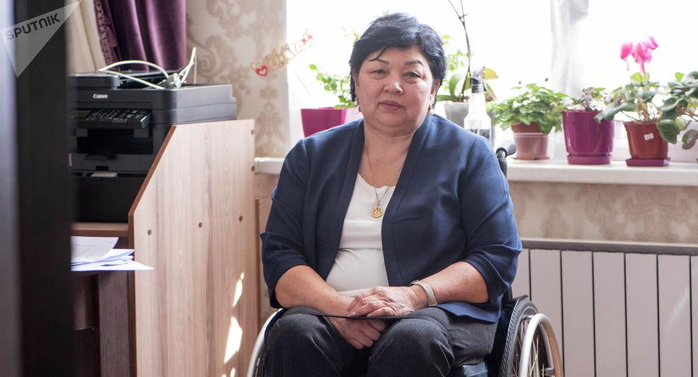 Руководитель общественного объединения Тендик Гульмира Казакунова