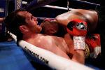 Бой в супертяжелом весе между британскими боксерами Каш Али и Дэвидом Прайсом в Ливерпуле