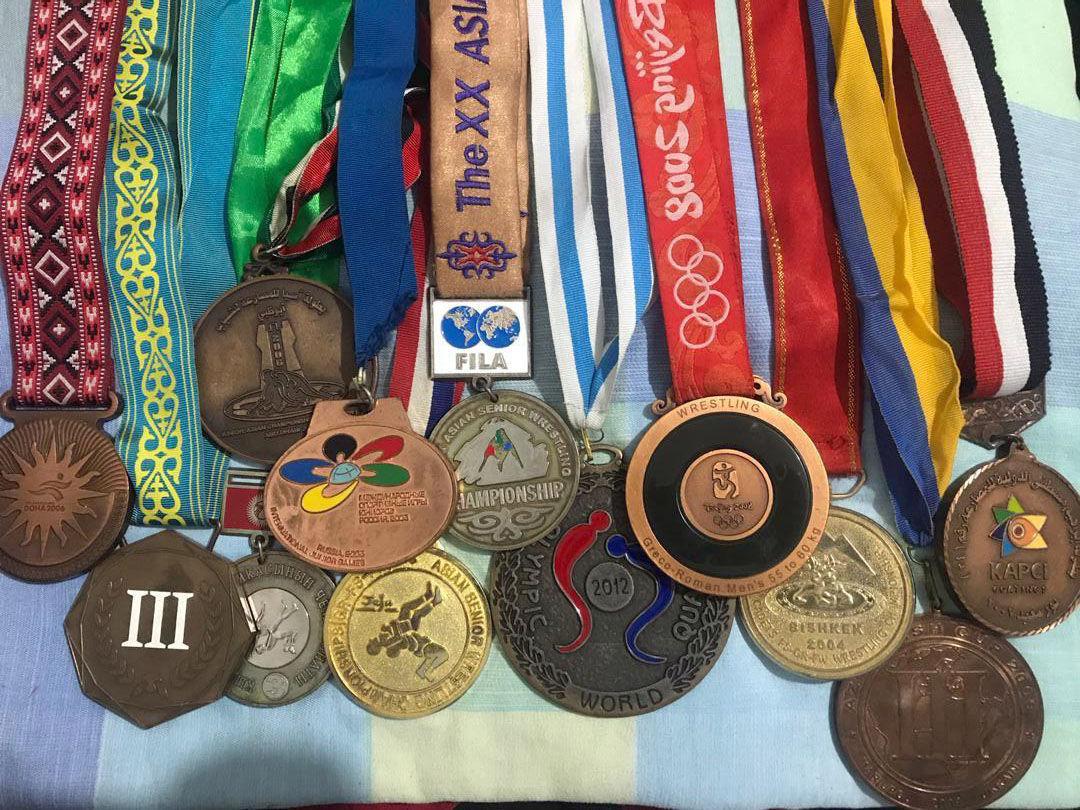 Украли медали борца, бронзового призера Олимпийских игр Руслана Тюменбаева