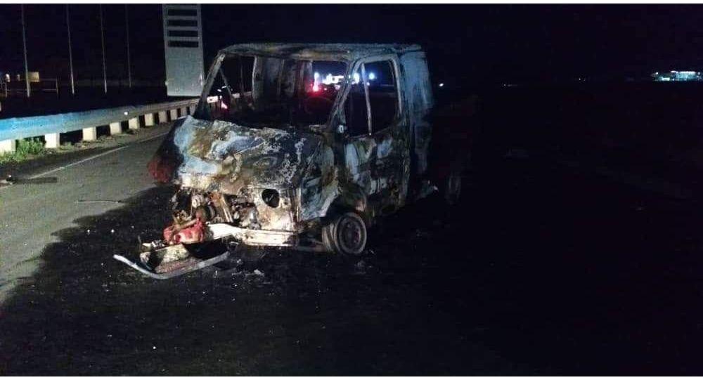 ДТП с участием Mercedes Benz и Ford в Кара-Суйском районе Ошской области