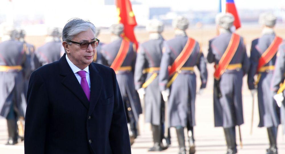 Казакстан президенти Касым-Жомарт Токаев