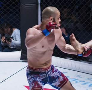 Кыргызстанский боец UFC Рафаэль Физиев. Архивное фото