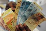 Банкноты бразильские реал. Архивное фото