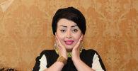 Тажикстандын эстрада ырчысы Фируза Хафизова. Архивдик сүрөт