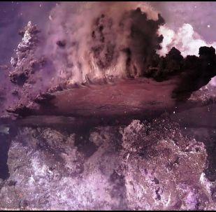 Робота опустили на глубину две тысячи метров, и он снял дно океана и его обитателей. Также удалось получить важные биологические пробы.
