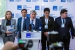 Экс-президент Алмазбек Атамбаев КСДП өткөн XVIII съездинен кийин
