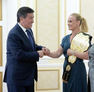 Валентина Шевченконун Кыргызстанга келиши