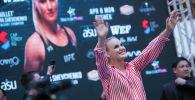 Чемпионка UFC из Кыргызстана Валентина Шевченко. Архив