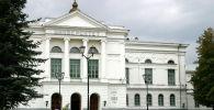 Фасад Томского государственного университета. Архивное фото