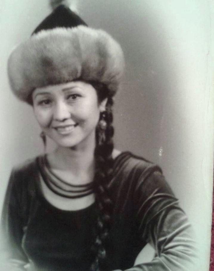 Артистка театра и кино, заслуженная артистка Кырыгзстана Шайыр Касымалиева