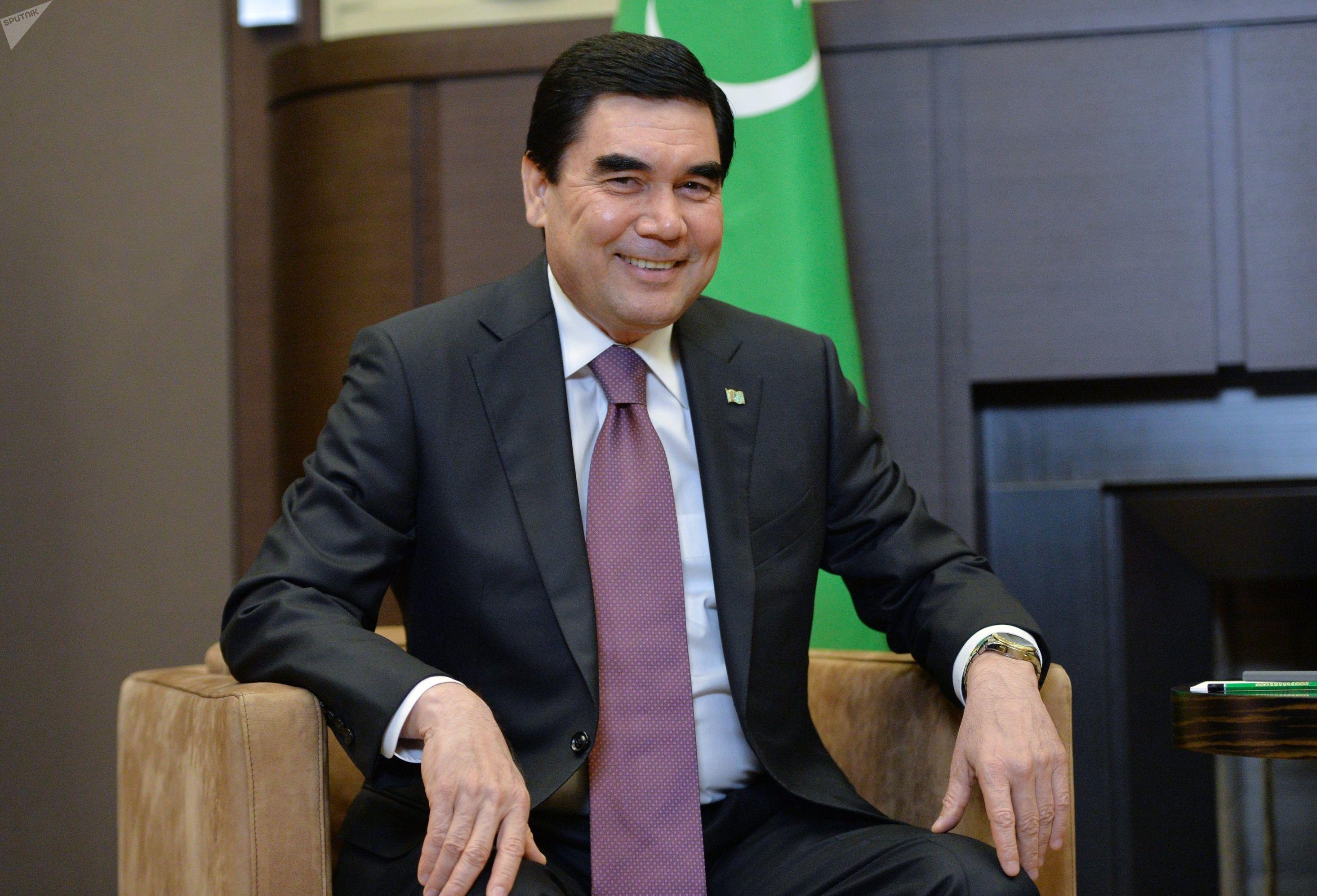 Президент РФ В. Путин встретился с президентом Туркменистана Г. Бердымухамедовым