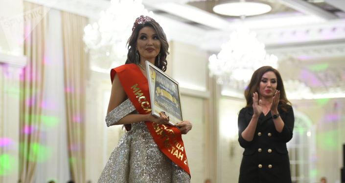 Победительницей конкурса Миссис Кыргызстан - 2019 стала Миргуль Болбекова