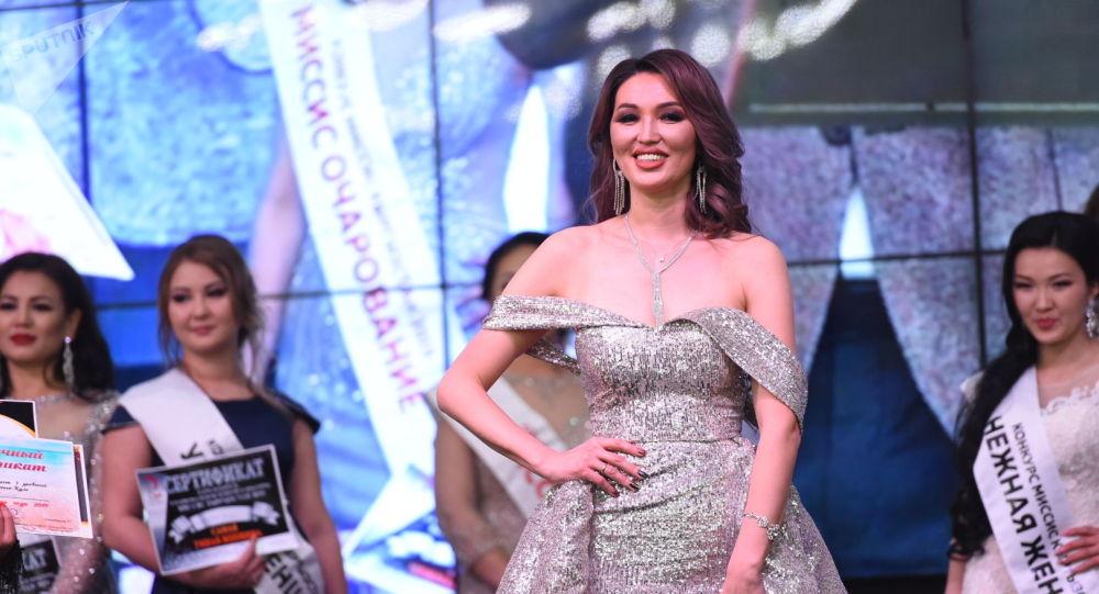 Победительницей конкурса Миссис Кыргызстан — 2019 стала Миргуль Болбекова