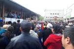 Митинг продавцов на территории Ошского рынка