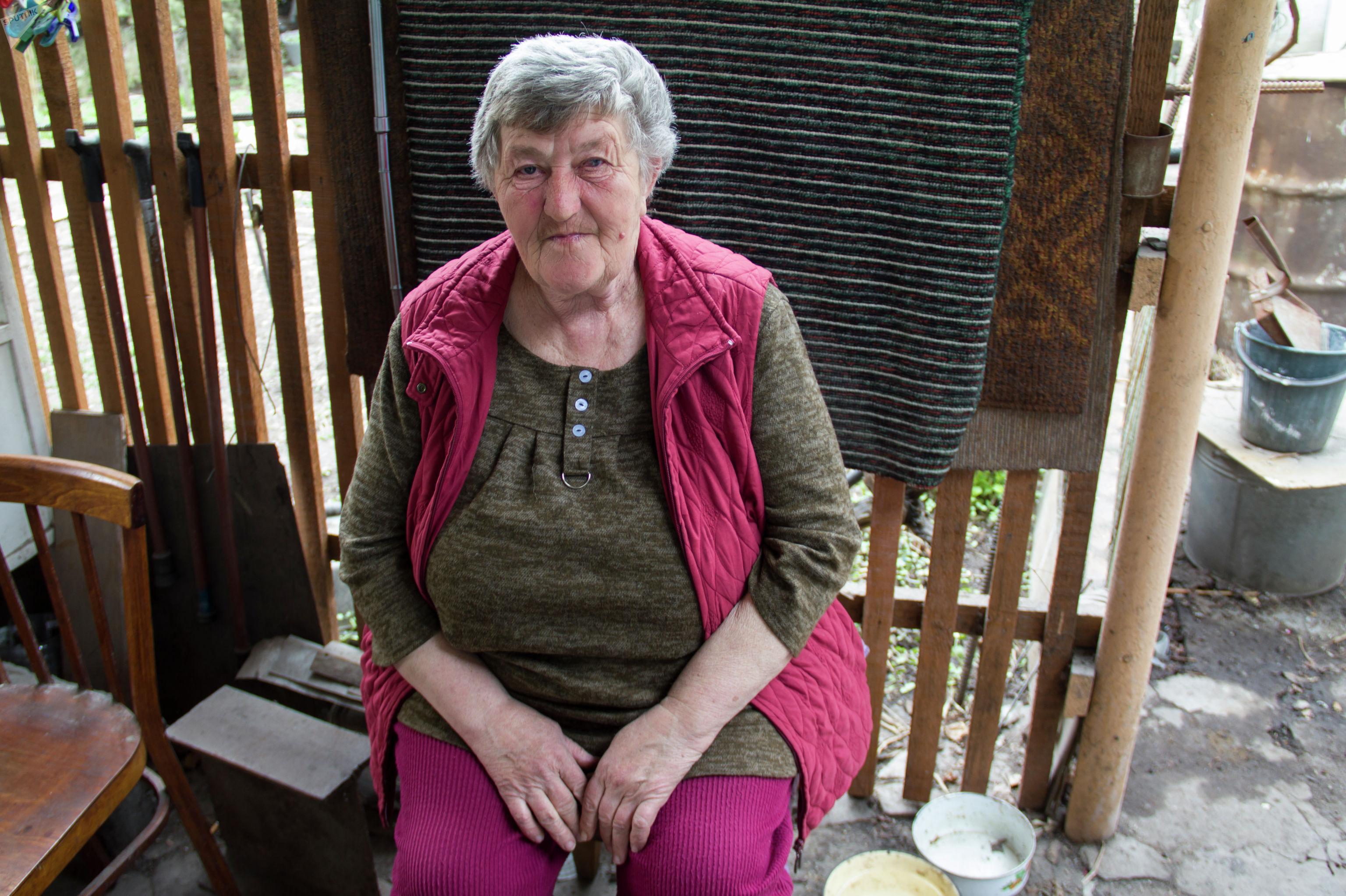 Жительница Бишкека Елизавета Васильевна