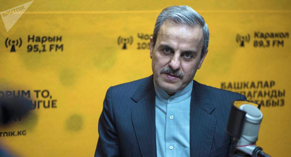 Посол Ирана в Кыргызстане господин Али Моджтаба во время беседы на радио Sputnik Кыргызстан