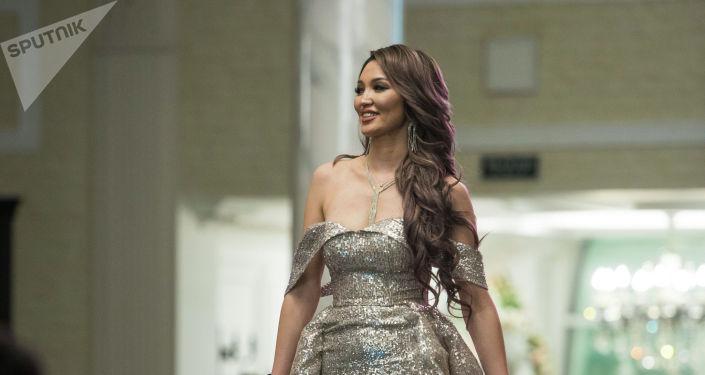 Миссис Кыргызстан -2019 сынагынын жеңүүчүсү Миргүл Бообекова