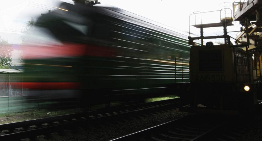 Поезд. Архивдик сүрөт