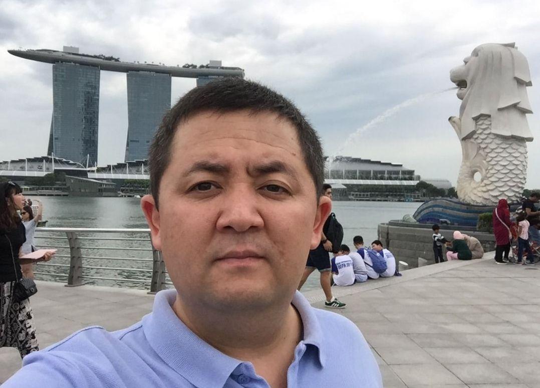 Бизнесмен Токтобек Акматов в Гуанчжоу