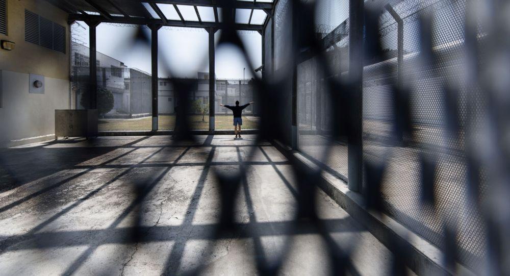 Мужчина в тюрьме в Гонконге. Архивное фото