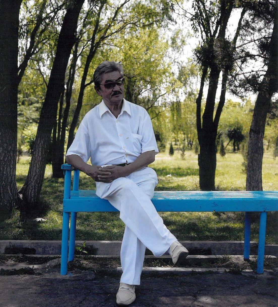 Известный композитор, народный артист КР Калыйбек Тагаев на отдыхе