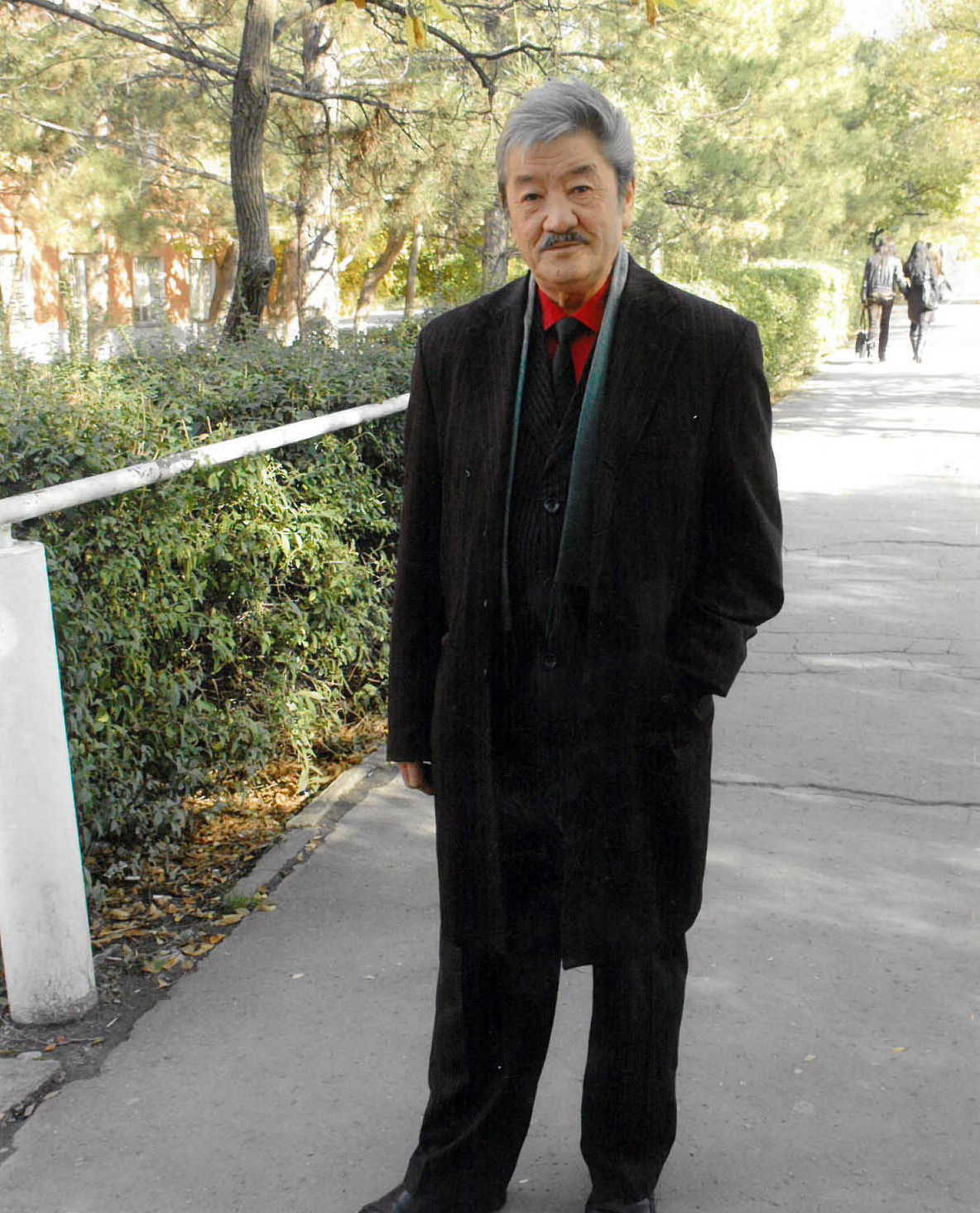 Известный композитор, народный артист КР Калыйбек Тагаев