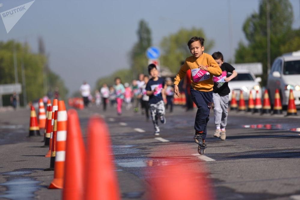 Они бегали на дистанции 100, 200 и 500 метров
